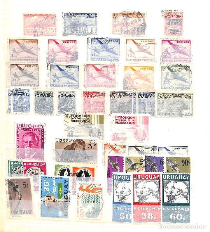 Sellos: URUGUAY, COLECCIÓN DE SELLOS , AÉREOS, OFICIAL, EN NUEVO Y USADO, - Foto 10 - 128812795