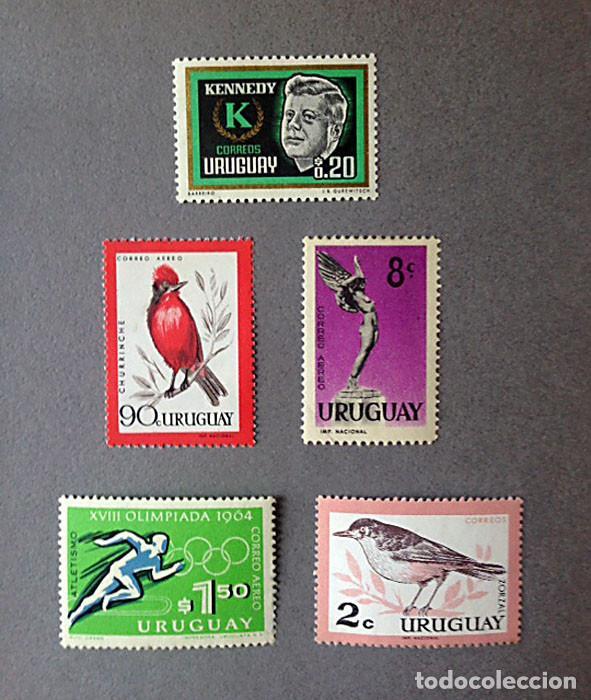 SELLOS URUGUAY - 1960-1969 - VARIOS - NUEVOS (Sellos - Extranjero - América - Uruguay)