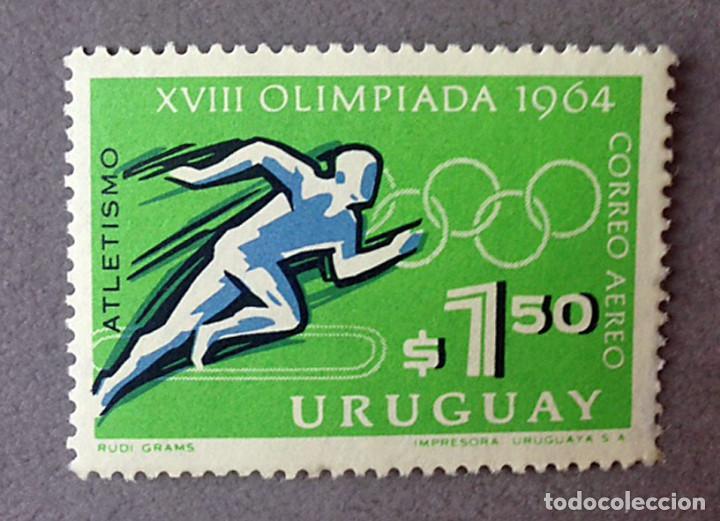 Sellos: SELLOS URUGUAY - 1960-1969 - VARIOS - NUEVOS - Foto 5 - 130933172
