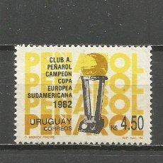 Sellos: URUGUAY YVERT NUM. 1150 ** SERIE COMPLETA NUEVA SIN FIJASELLOS. Lote 133743802