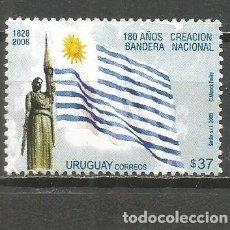 Sellos: URUGUAY YVERT NUM. 2387 ** SERIE COMPLETA SIN FIJASELLOS. Lote 133745814