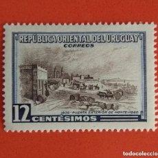 Sellos: URUGUAY 1954 PUERTA EXTERIOR DE MONTEVIDEO NUEVO. Lote 134270918