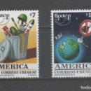 Sellos: R/19368, SERIE NUEVA ** MNH DE URUGUAY -AMÉRICA UPAEP-, AÑO 1999, EN PERFECTO ESTADO. Lote 160613378