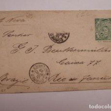 Sellos: CARTA CIRCULADA REPUBLICA DEL URUGUAY . Lote 196079125