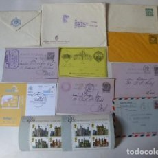 Sellos: CONJUNTO DE CARTAS POSTAL, HOJITA LONDON, CARTA PREPAGADA ETC.. Lote 196187627