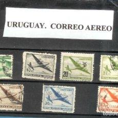 Sellos: LOTE DE SELLOS DE URUGUAY. CORREO AEREO. Lote 205380367