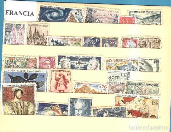 LOTE DE SELLOS DE FRANCIA (Sellos - Extranjero - América - Uruguay)