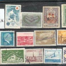 Sellos: LOTE DE SELLOS DE TURKIA. Lote 205571192