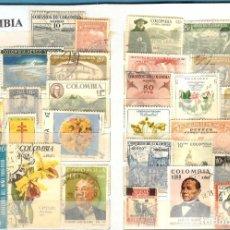 Sellos: LOTE DE SELLOS DE COLOMBIA. Lote 205576825