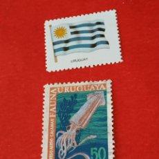 Sellos: URUGUAY B4. Lote 210789974