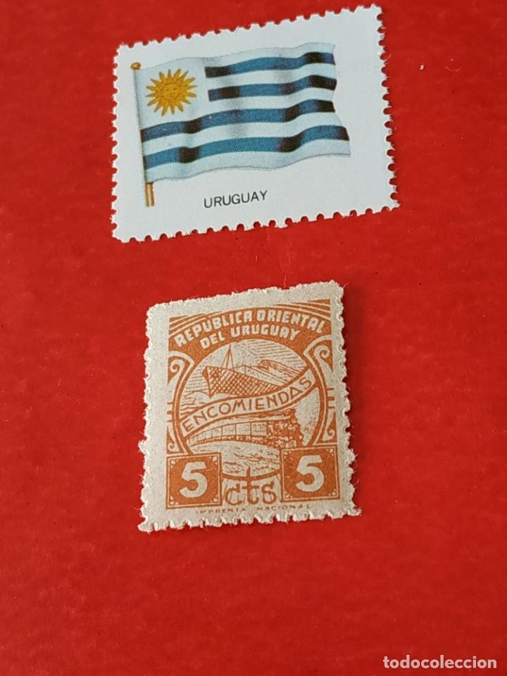 URUGUAY D2 (Sellos - Extranjero - América - Uruguay)