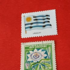 Sellos: URUGUAY D3. Lote 210790314