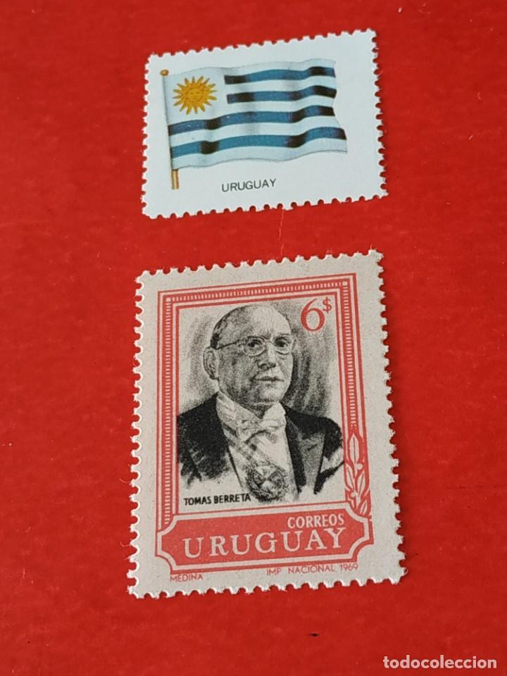 URUGUAY E2 (Sellos - Extranjero - América - Uruguay)