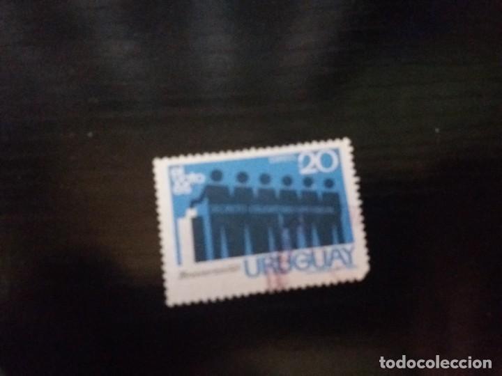 SELLO URUGUAY, USADO EL DE LA FOTO. VER TODOS MIS SELLOS NUEVOS Y USADOS (Sellos - Extranjero - América - Uruguay)