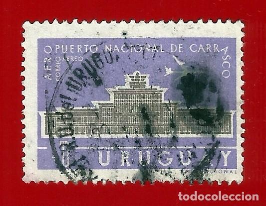 URUGUAY. 1961. AEROPUERTO NACIONAL DE CARRASCO (Sellos - Extranjero - América - Uruguay)