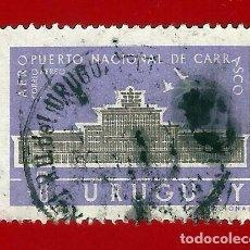 Sellos: URUGUAY. 1961. AEROPUERTO NACIONAL DE CARRASCO. Lote 211593564
