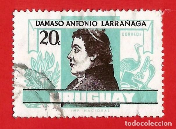 URUGUAY. 1963. DAMASO ANTONIO LARRAÑAGA (Sellos - Extranjero - América - Uruguay)
