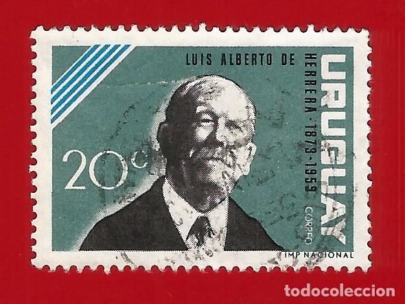 URUGUAY. 1964. LUIS ALBERTO DE HERRERA (Sellos - Extranjero - América - Uruguay)