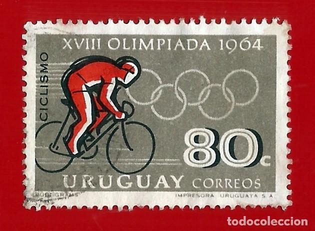 URUGUAY. 1965. JJ. OO. TOKIO. CICLISMO (Sellos - Extranjero - América - Uruguay)