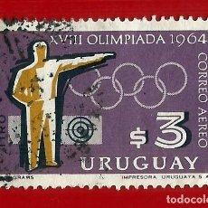 Sellos: URUGUAY. 1965. JJ. OO. TOKIO. TIRO CON PISTOLA. Lote 211597989