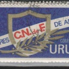 Sellos: LOTE W-SLLO URUGUAY TEMA FUTBOL. Lote 256154420