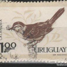 Sellos: LOTE W-SLLO URUGUAY TEMA FAUNA. Lote 218613627