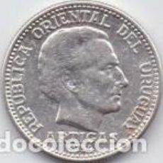 Sellos: 8 MONEDAS 20CTS URUGUAY 1954. Lote 219068700
