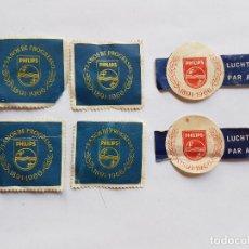 Sellos: PHILIPS 75 AÑOS DE PROGRESSO 1891-1966 LUCHTPOST PAR AVION 6 SELLOS, 6 STAMPS. Lote 221627322