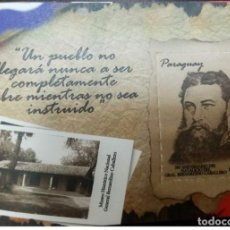 Sellos: O) 2019 PARAGUAY, BERNARDINO CABALLERO - MUSEO HISTÓRICO, MNHH. Lote 221800662