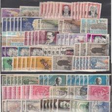 Sellos: URUGUAY, CONJUNTO DE 138 SELLOS. CALIDADES DIVERSAS, NUEVOS Y USADOS.. Lote 234852900