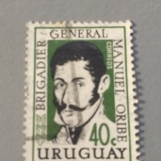 Sellos: SELLO URUGUAY BRIGADIER GENERAL MANUEL ORIBE. Lote 235725040