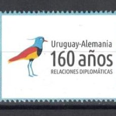 Sellos: UY3494 URUGUAY 2016 MNH 160 YEARS SERIES DIPLOMATIC RELATIONS URUGUAY-GERMANY. Lote 236772875