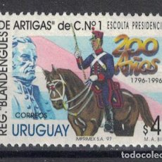 Sellos: UY2229 URUGUAY 1997 MNH THE 200TH ANNIVERSARY OF THE ARTIGAS'S LANCERS. Lote 236772935