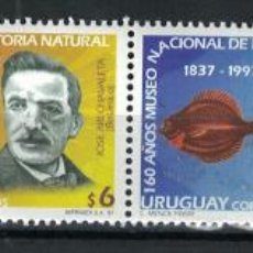Sellos: UY2280MS URUGUAY 1997 MNH THE 160TH ANNIVERSARY OF THE NATIONAL NATURAL HISTORY MUSEUM. Lote 236772995