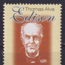 Sellos: UY2605 URUGUAY 2001 MNH THE 75TH ANNIVERSARY OF THE DEATH OF THOMAS ALVA EDISON. Lote 236773065