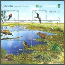 Sellos: URUGUAY 2015 FAUNA - WETLANDS FOR OUR FUTURE MNH - BIRDS, FAUNA. Lote 241345250