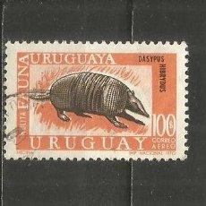 Sellos: URUGUAY CORREO AEREO YVERT NUM. 363 USADO. Lote 243136215