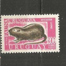 Sellos: URUGUAY CORREO AEREO YVERT NUM. 376 NUEVO SIN GOMA. Lote 243136835