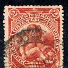 Sellos: URUGUAY // YVERT 153 // 1900-10 ... USADO. Lote 243628445