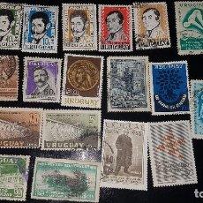 Sellos: URUGUAY - LOTE SELLOS - AÑOS 50. Lote 246318605