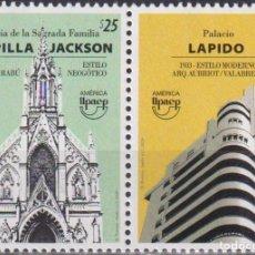 Sellos: ⚡ DISCOUNT URUGUAY 2020 AMERICA UPAEP - ARCHITECTURE MNH - ARCHITECTURE. Lote 260587750