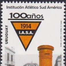 Sellos: ⚡ DISCOUNT URUGUAY 2014 THE 100TH ANNIVERSARY OF I.A.S.A. MNH - SPORT. Lote 262873930
