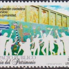 Sellos: ⚡ DISCOUNT URUGUAY 2014 HERITAGE DAY MNH - HOLIDAYS. Lote 262874110