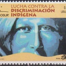 Sellos: ⚡ DISCOUNT URUGUAY 2014 MERCOSUR - FIGHT AGAINST DISCRIMINATION MNH - ART. Lote 262874270