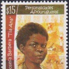 Sellos: ⚡ DISCOUNT URUGUAY 2014 AFRO-URUGUAYAN PERSONALITIES - JOSEFA BARBERA MNH - FAMOUS WOMEN. Lote 262874290