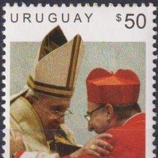 Sellos: ⚡ DISCOUNT URUGUAY 2015 CARDENAL DANIEL STURLA MNH - RELIGION, POPE. Lote 262874340