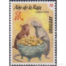 Sellos: ⚡ DISCOUNT URUGUAY 2020 CHINESE NEW YEAR - YEAR OF THE RAT MNH - NEW YEAR. Lote 270392363