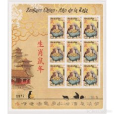 Sellos: ⚡ DISCOUNT URUGUAY 2020 CHINESE NEW YEAR - YEAR OF THE RAT MNH - NEW YEAR. Lote 270392373