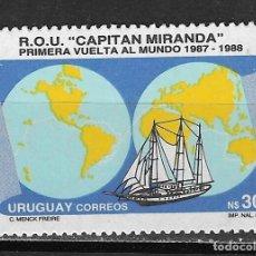 Sellos: URUGUAY Nº 1249 (**). Lote 276465723