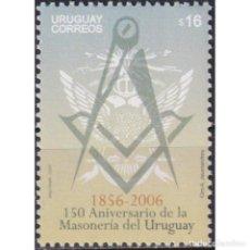 Sellos: UY2926 URUGUAY 2006 MNH THE 150TH ANNIVERSARY OF FREEMASON IN URUGUAY. Lote 287536018
